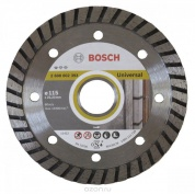 Диск алмазный Professional for Universal Turbo для УШМ (115х22,2 мм) Bosch 2.608.602.393